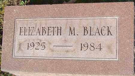 BLACK, ELIZABETH M - Franklin County, Ohio | ELIZABETH M BLACK - Ohio Gravestone Photos