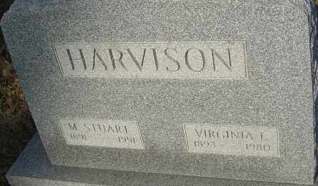 HARVISON, VIRGINIA L - Franklin County, Ohio | VIRGINIA L HARVISON - Ohio Gravestone Photos
