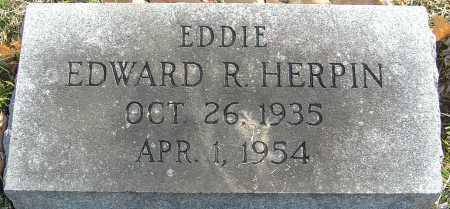 HERPIN, EDWARD R - Franklin County, Ohio   EDWARD R HERPIN - Ohio Gravestone Photos