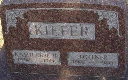 KIEFER, JOHN P - Franklin County, Ohio | JOHN P KIEFER - Ohio Gravestone Photos