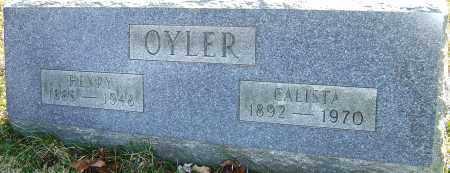 OYLER, HENRY - Franklin County, Ohio | HENRY OYLER - Ohio Gravestone Photos