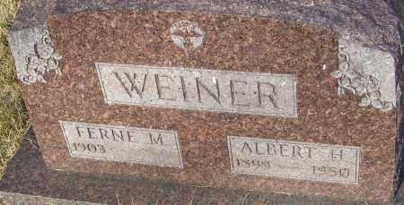 VAN HORN WEINER, FERNE - Franklin County, Ohio | FERNE VAN HORN WEINER - Ohio Gravestone Photos