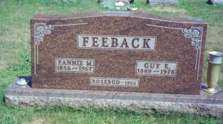 BECKER FEEBACK, FANNIE M. - Fulton County, Ohio | FANNIE M. BECKER FEEBACK - Ohio Gravestone Photos