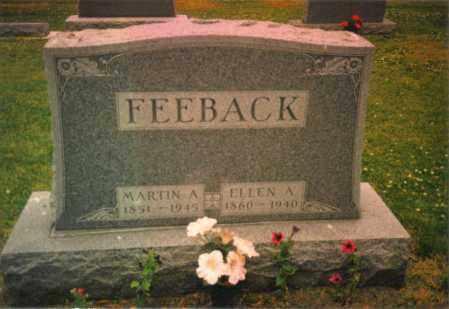 FEEBACK, ELLEN A. - Fulton County, Ohio | ELLEN A. FEEBACK - Ohio Gravestone Photos