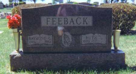 FEEBACK, RAYMOND G. - Fulton County, Ohio | RAYMOND G. FEEBACK - Ohio Gravestone Photos
