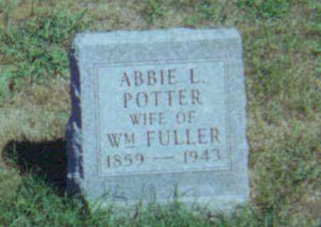 FULLER, ABBIE LOVINA - Fulton County, Ohio | ABBIE LOVINA FULLER - Ohio Gravestone Photos