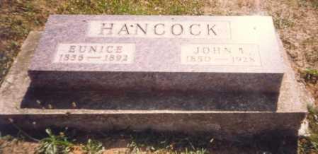 HANCOCK, JOHN L. - Fulton County, Ohio   JOHN L. HANCOCK - Ohio Gravestone Photos