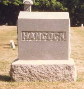 HANCOCK, MONUMENT - Fulton County, Ohio | MONUMENT HANCOCK - Ohio Gravestone Photos