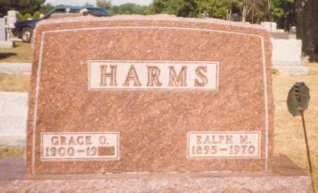 HARMS, RALPH M. - Fulton County, Ohio   RALPH M. HARMS - Ohio Gravestone Photos