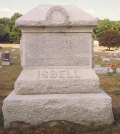 ISBELL, PAULINE - Fulton County, Ohio | PAULINE ISBELL - Ohio Gravestone Photos