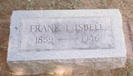 ISBELL, FRANK I. - Fulton County, Ohio   FRANK I. ISBELL - Ohio Gravestone Photos