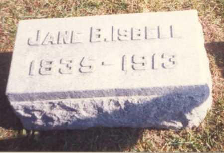 LEMON ISBELL, JANE B. - Fulton County, Ohio | JANE B. LEMON ISBELL - Ohio Gravestone Photos