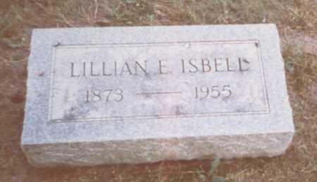 ISBELL, LILLIAN E. - Fulton County, Ohio   LILLIAN E. ISBELL - Ohio Gravestone Photos