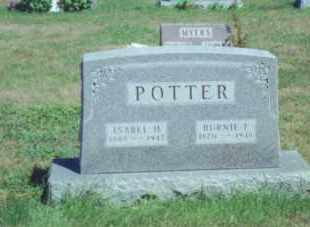KEYES POTTER, ISABEL H. - Fulton County, Ohio | ISABEL H. KEYES POTTER - Ohio Gravestone Photos