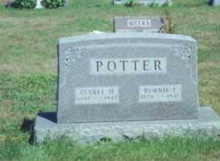 POTTER, ISABEL H. - Fulton County, Ohio | ISABEL H. POTTER - Ohio Gravestone Photos