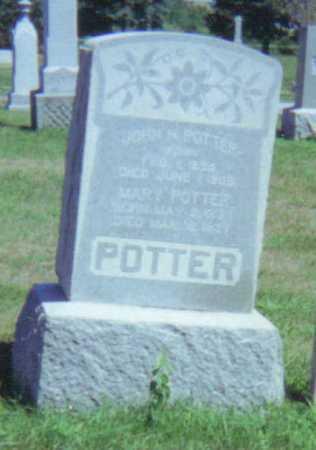 POTTER, MARY L. - Fulton County, Ohio   MARY L. POTTER - Ohio Gravestone Photos