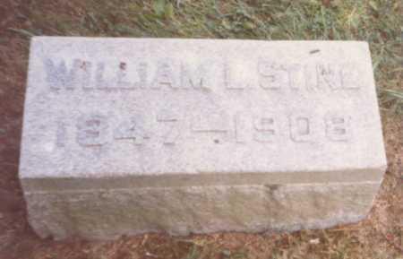 STINE, WILLIAM L. - Fulton County, Ohio | WILLIAM L. STINE - Ohio Gravestone Photos
