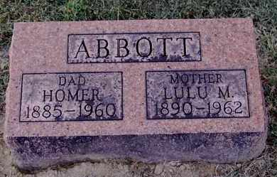 ABBOTT, HOMER - Gallia County, Ohio   HOMER ABBOTT - Ohio Gravestone Photos