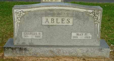 ABLES, CHARLES R - Gallia County, Ohio   CHARLES R ABLES - Ohio Gravestone Photos