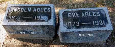ABLES, EVA - Gallia County, Ohio | EVA ABLES - Ohio Gravestone Photos