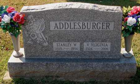 ADDLESBURGER, STANLEY W. - Gallia County, Ohio | STANLEY W. ADDLESBURGER - Ohio Gravestone Photos