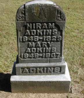 ADKINS, HIRAM - Gallia County, Ohio | HIRAM ADKINS - Ohio Gravestone Photos