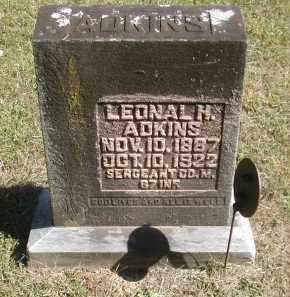 ADKINS, LEONAL - Gallia County, Ohio | LEONAL ADKINS - Ohio Gravestone Photos