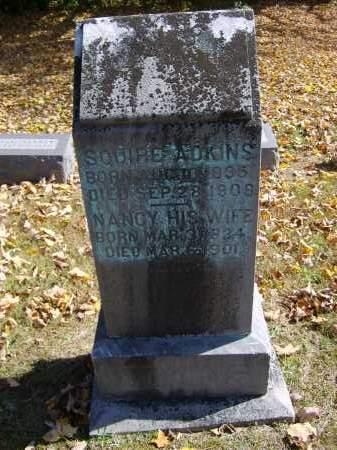 ADKINS, NANCY - Gallia County, Ohio | NANCY ADKINS - Ohio Gravestone Photos