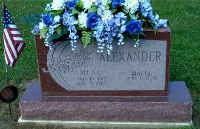 ALEXANDER, MACEL - Gallia County, Ohio | MACEL ALEXANDER - Ohio Gravestone Photos