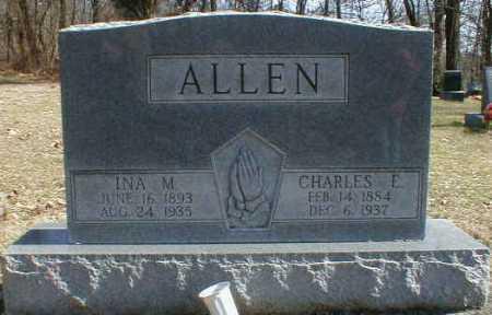 ALLEN, CHARLES - Gallia County, Ohio | CHARLES ALLEN - Ohio Gravestone Photos