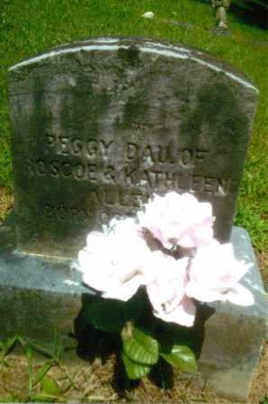 ALLEN, PEGGY - Gallia County, Ohio | PEGGY ALLEN - Ohio Gravestone Photos