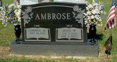 AMBROSE, CORRINE M - Gallia County, Ohio   CORRINE M AMBROSE - Ohio Gravestone Photos