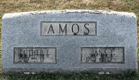 AMOS, LUTHER E - Gallia County, Ohio | LUTHER E AMOS - Ohio Gravestone Photos