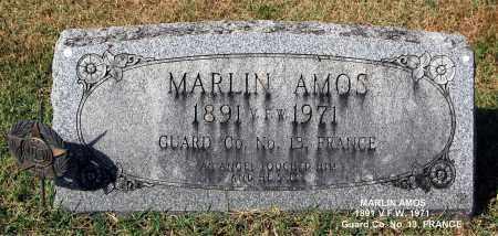 AMOS, MARLIN - Gallia County, Ohio   MARLIN AMOS - Ohio Gravestone Photos
