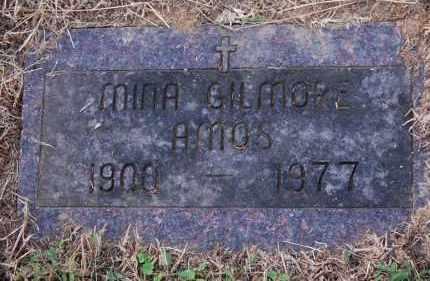 GILMORE AMOS, MINA - Gallia County, Ohio | MINA GILMORE AMOS - Ohio Gravestone Photos