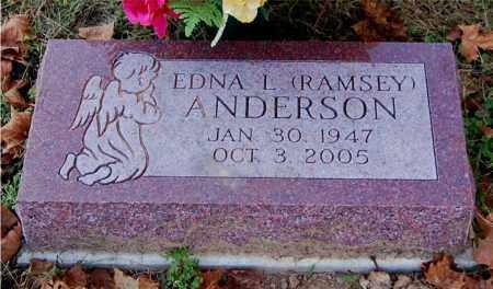 ANDERSON, EDNA L - Gallia County, Ohio | EDNA L ANDERSON - Ohio Gravestone Photos