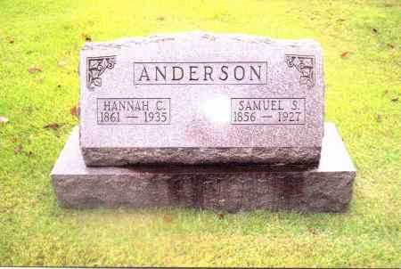ANDERSON, SAMUEL - Gallia County, Ohio | SAMUEL ANDERSON - Ohio Gravestone Photos