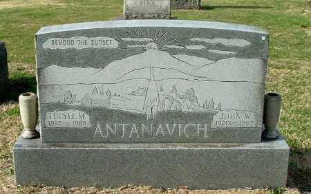ANTANAVICH, JOHN W - Gallia County, Ohio | JOHN W ANTANAVICH - Ohio Gravestone Photos