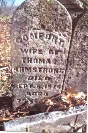 ARMSTRONG, COMFORT - Gallia County, Ohio | COMFORT ARMSTRONG - Ohio Gravestone Photos