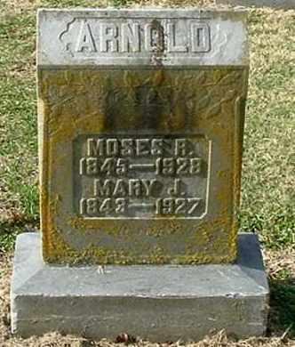 ARNOLD, MARY JANE - Gallia County, Ohio | MARY JANE ARNOLD - Ohio Gravestone Photos