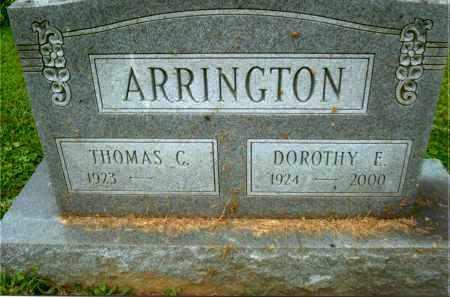 ARRINGTON, THOMAS C. - Gallia County, Ohio | THOMAS C. ARRINGTON - Ohio Gravestone Photos