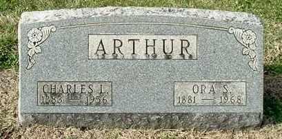 ARTHUR, ORA S - Gallia County, Ohio   ORA S ARTHUR - Ohio Gravestone Photos