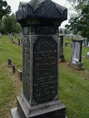 JOHNSTON ASHWORTH, IDA - Gallia County, Ohio | IDA JOHNSTON ASHWORTH - Ohio Gravestone Photos