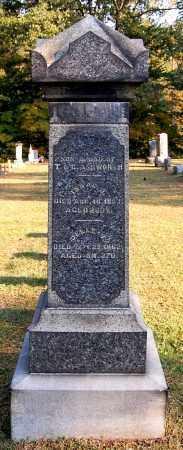 ASHWORTH, DELLE V - Gallia County, Ohio | DELLE V ASHWORTH - Ohio Gravestone Photos