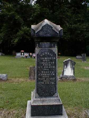 ASHWORTH, NETTIE - Gallia County, Ohio | NETTIE ASHWORTH - Ohio Gravestone Photos
