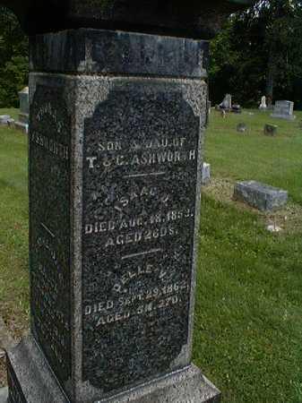 ASHWORTH, T. - Gallia County, Ohio | T. ASHWORTH - Ohio Gravestone Photos