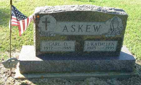 ASKEW, I KATHLEEN - Gallia County, Ohio | I KATHLEEN ASKEW - Ohio Gravestone Photos