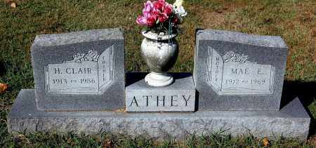 ATHEY, CLAIR - Gallia County, Ohio | CLAIR ATHEY - Ohio Gravestone Photos