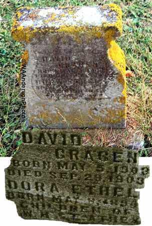 ATHEY, DORA ETHEL - Gallia County, Ohio | DORA ETHEL ATHEY - Ohio Gravestone Photos