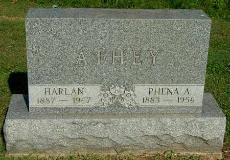 ATHEY, PHENA A - Gallia County, Ohio | PHENA A ATHEY - Ohio Gravestone Photos